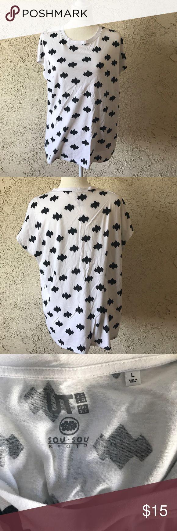 Uniqlo T shirt It is the sou sou Kyoto line at Uniqlo Uniqlo Tops