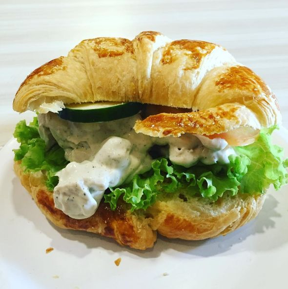 Chicken salad on a croissant? Have we gone mad with power? | 19 Times Croissants Went WAY TOO FAR