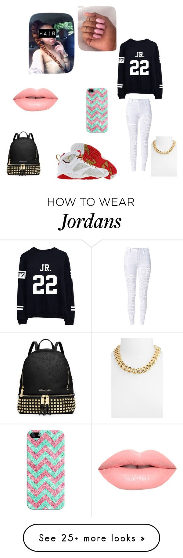 """""""Untitled #201"""" by miss-eli-pink on Polyvore featuring Retrò, Casetify, Lime Crime, MICHAEL Michael Kors and Nordstrom"""