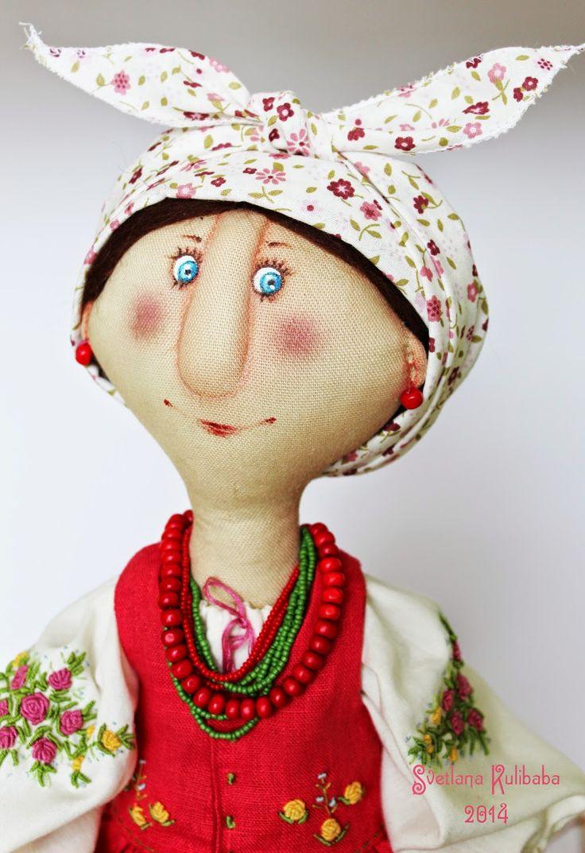 Жили - были куклы  веселушки  : Солоха