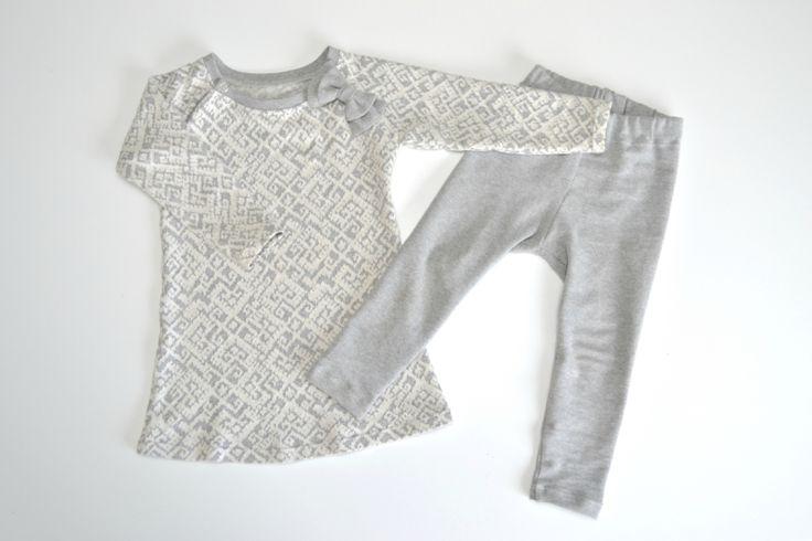 Speiltvillingene - kjole- og tightmønster og tutorila