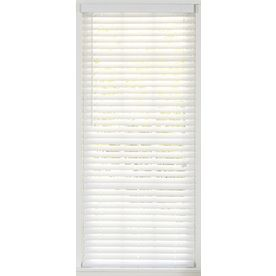 Style Selections 2-In White Faux Wood Room Darkening Plantation Blinds (Common: 55.5-In X 72-In; Actual: 55.5-In X 72-In