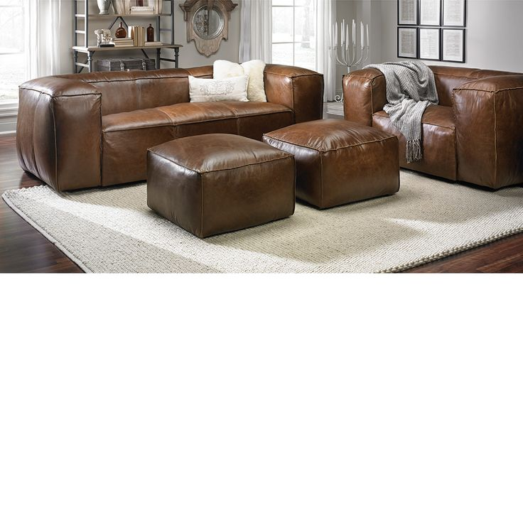 The Sullivan Sofa 100 Top Grain Leather 8 Way Hand Tied Seating Dump FurnitureFurniture OutletGame RoomLeather