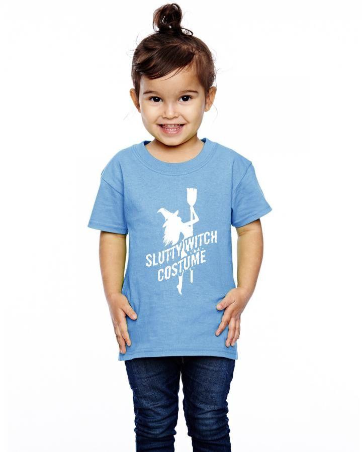 slutty witch costume Toddler T-shirt