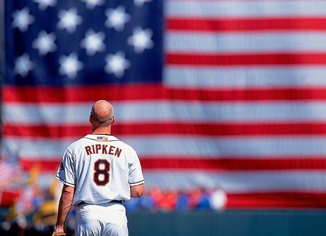 Ripken & the National Anthem