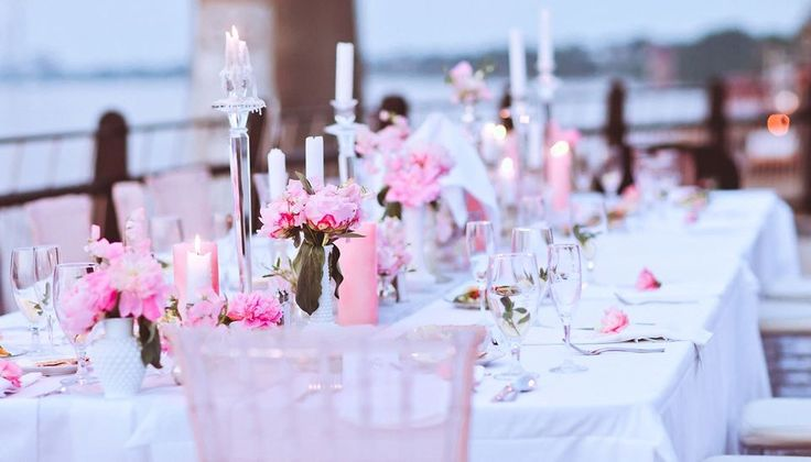 Pink wedding jonnica 39 s wedding stuff pinterest pink for Accent styling salon gainesville