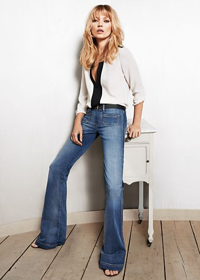 KATE MOSS for MANGO SS12