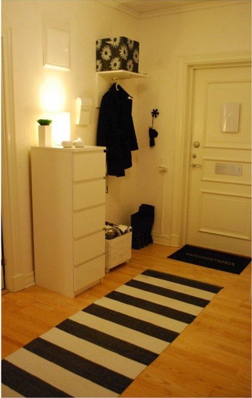 recibidor : Recibidor Blanco y Negro