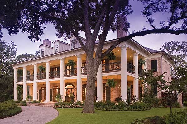 25 best dream home images on pinterest nice houses real for Southern luxury house plans