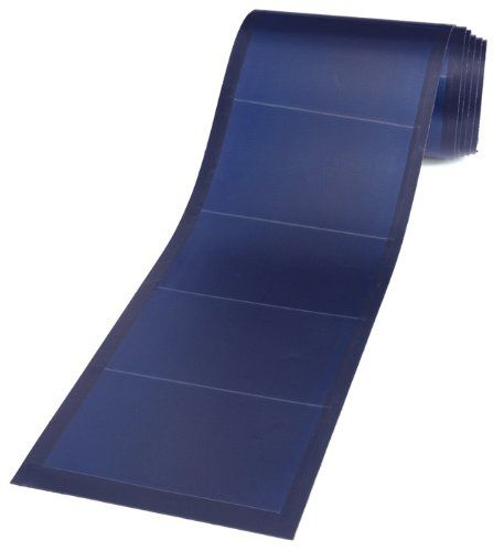 Flexible Solar Panel.  Have you ever seen a solar panel that is so handy, you can roll it over to store it when not in use? There is a 124-watt solar panel available right now that is very practical to utilize and store. Now you might ask how powerful this is since it is collapsible. How effective the device might be?