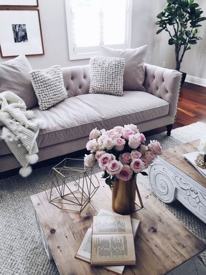 My Love For Neutrals Expands From My Wardrobe Into My Home As Well. I Find. Living  Room ...