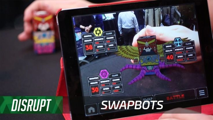 SwapBots unleashes your creativity with augmented building blocks