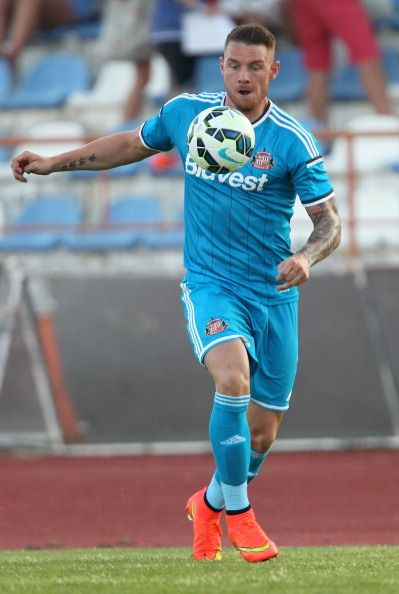 Connor Wickham of Sunderland during a preseason friendly match...