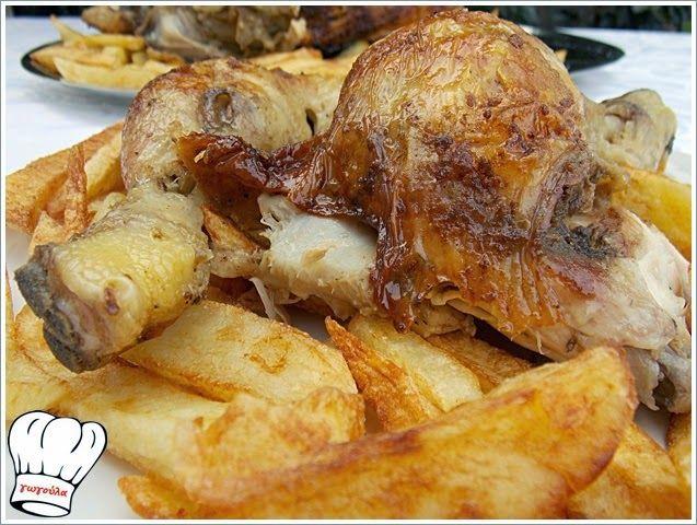 ΚΟΤΟΠΟΥΛΟ ΣΟΥΒΛΑΣ ΓΕΜΙΣΤΟ!!!   Νόστιμες Συνταγές της Γωγώς