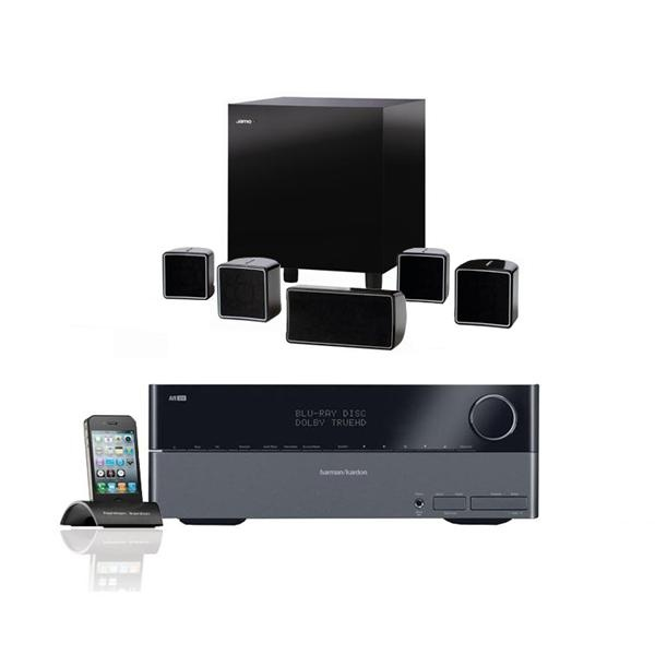 Harman Kardon 5.1 3D Home Theater Bundle with Jamo Speakers 10/15/12 use coupon code DailyDeal for special price