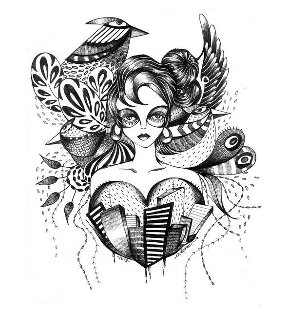 .... by Ledania, my beautiful Colombian friend.