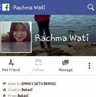 Status menjurus SARA. Rachma wati nama pemilik akun FB yg bikin geger - Youtube Most Wanted