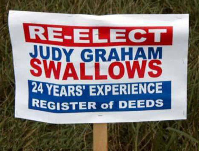 Judy Graham Swallows.....24 years experience.