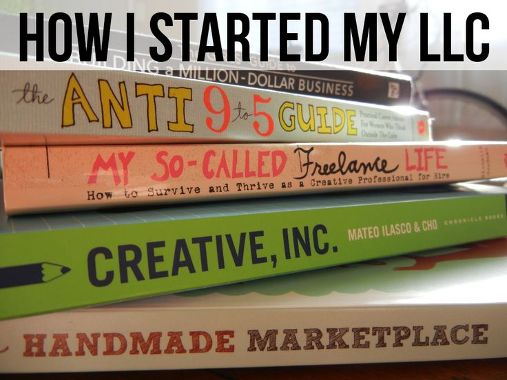 The basics on how I got my LLC registered, set up names, bank accounts, emails, and more!