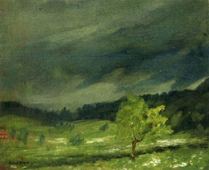 """Robert Henri """"Summer Storm"""""""