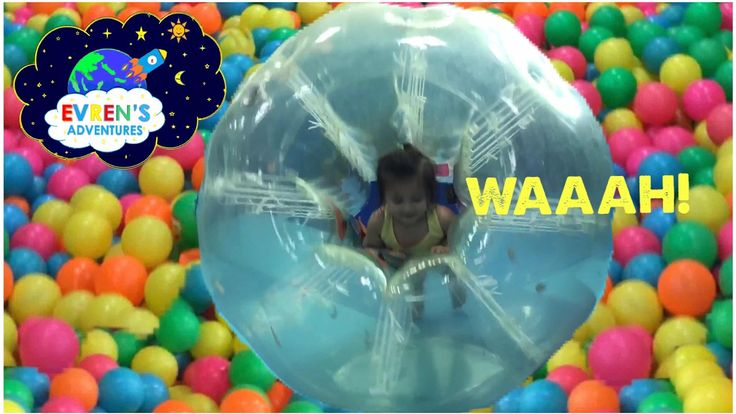 FAMILY FUN Indoor Playground Kids Play Center Inflatable GIANT BALL PIT Play Room. Thanks for joining Evren in this Indoor Playground Kids Play Center Inflatable GIANT BALL PIT Play Room. This huge play Area for children is so much fun for kids playing, jumping on the inflatable bouncer bouncing, climbing, sliding on the playground and just have a fun time with family and friends! There's also play center with toys and Giant Ball Pit room, Cars Racing for Kids, Chu Chu train kids can ride…
