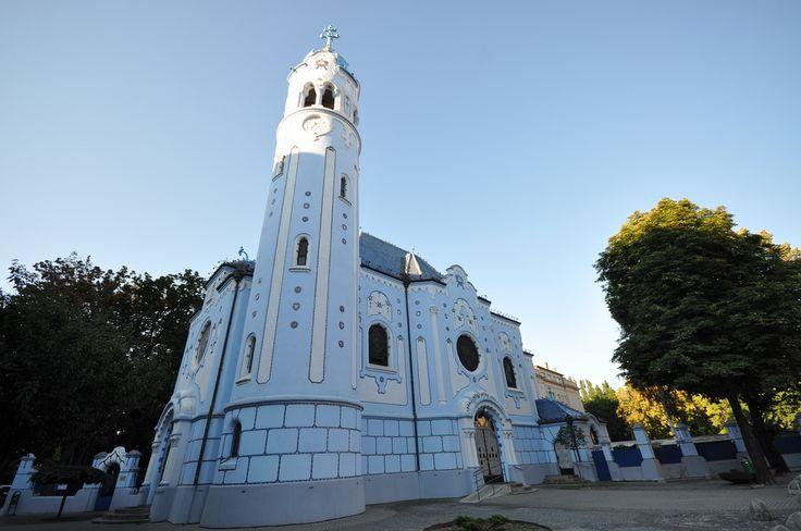The church of St. Elisabeth in Bratislava, Slovakia  http://timeforslovakia.com/best-of-bratislava
