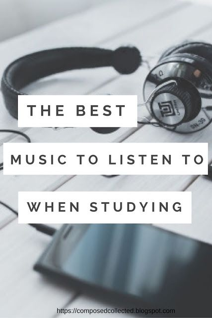 songs to listen to while writing a paper