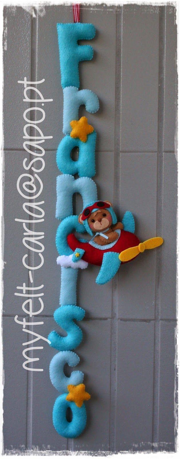 Ideas de fieltro para decorar la habitación de los peques   Decorar tu casa es facilisimo.com