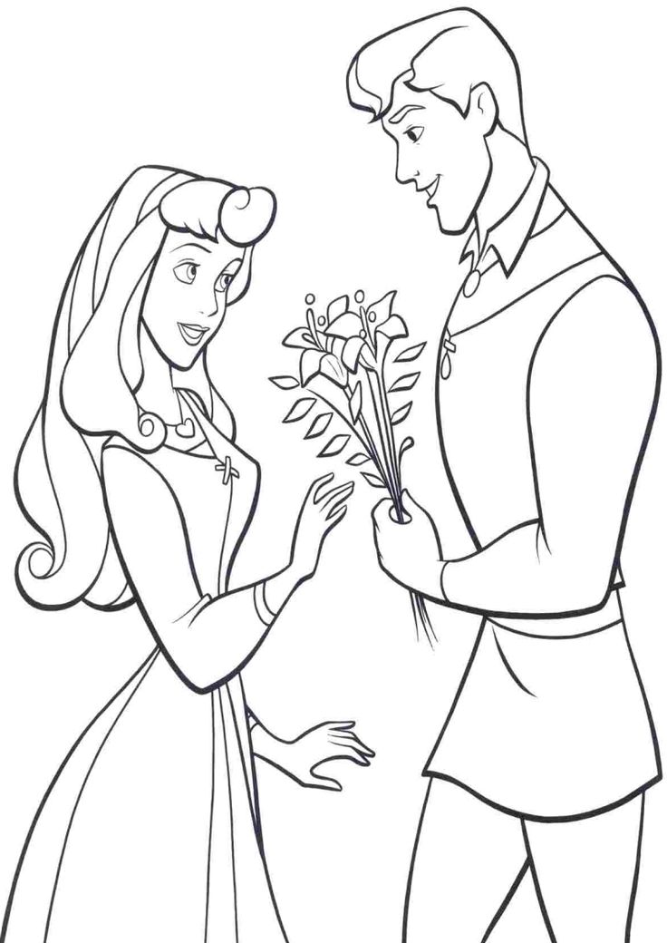 13+ Princess aurora and prince phillip coloring pages info