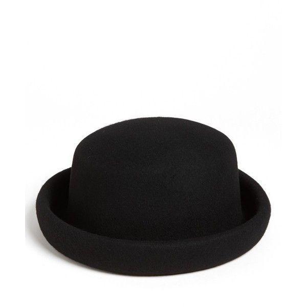3e2c513d3 Topshop 'Pork Pie' Bowler Hat found on Polyvore | Top Fashion ...