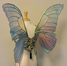diy cellophane fairy wings - Google Search