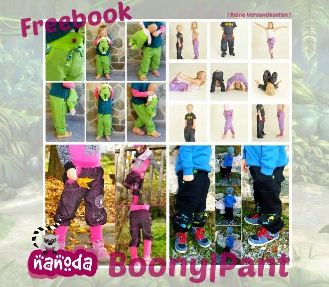 Nanodas kreative Welt: Freebook Boony Pants und Shorts