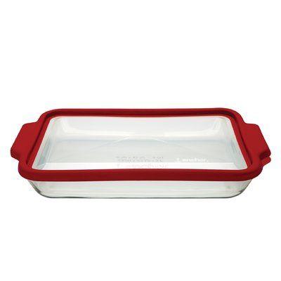Fox Run Craftsmen Anchor Rectangular TrueFit Baking Dish with Cover