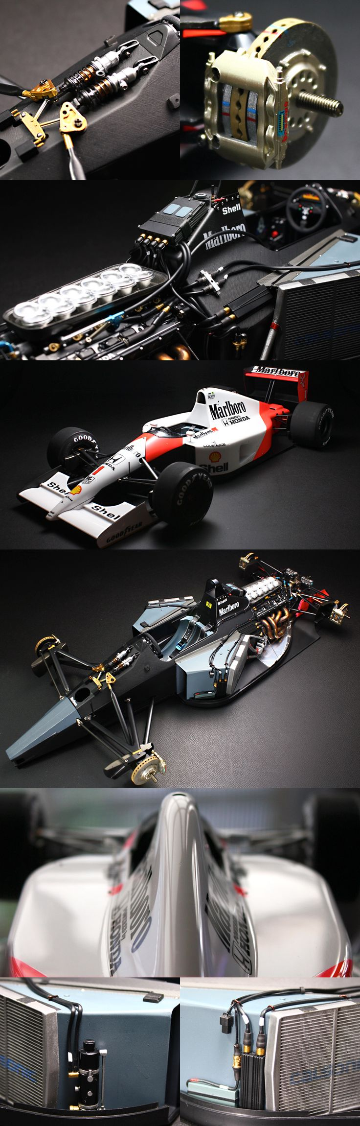 1/12 scale HONDA MP4/6 - delicious