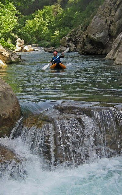 Rafting in Alfeios! Gortina, Arcadia, Greece   by Alexandros K
