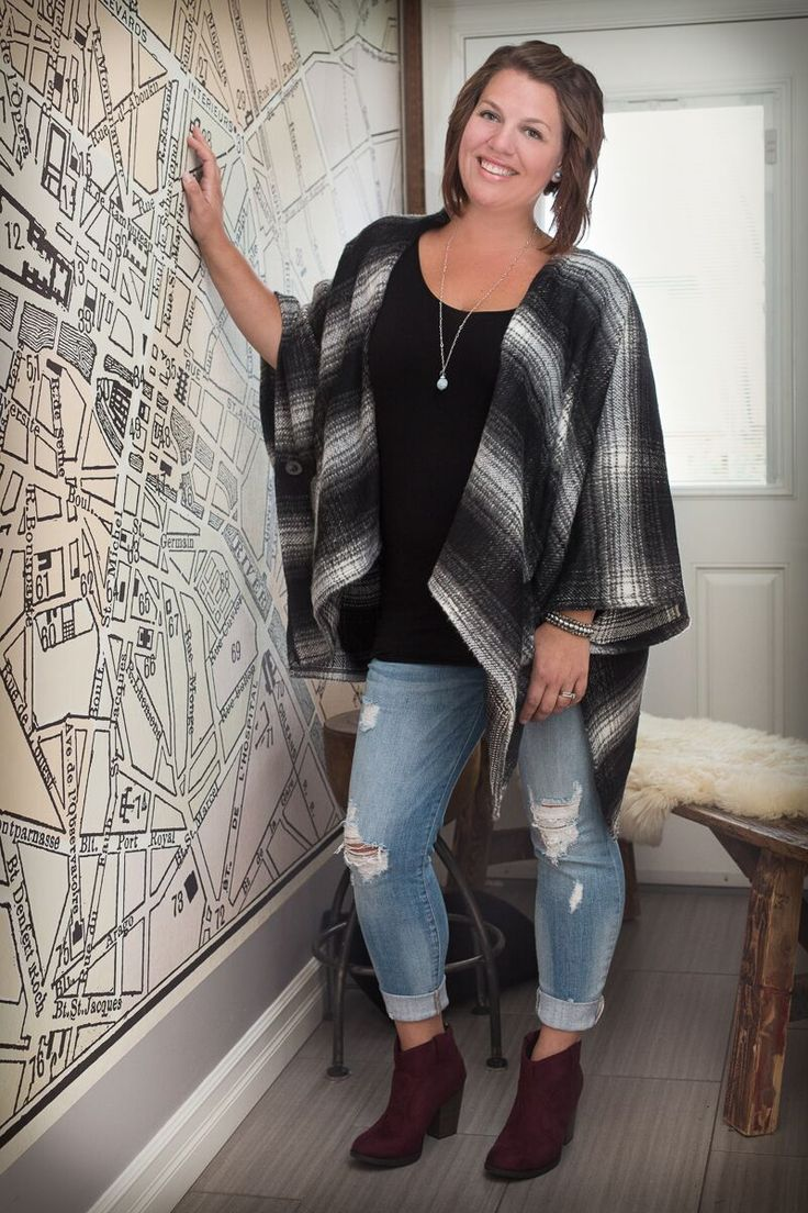 - 70% Cotton, 30% Polyester  This Poncho has the most {BEAUTIFUL} Fit and…