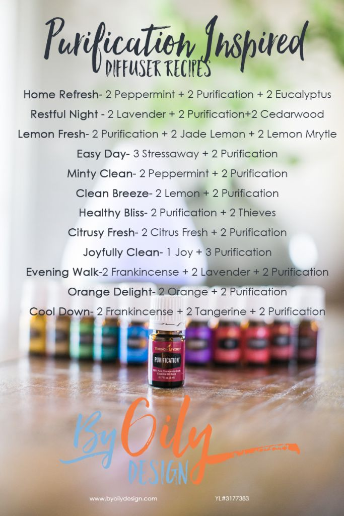Purification Essential Oil Benefits, 12 Purification inspired Essential Oil diffuser recipes to freshen your home. Purification Essential oil, Purification Young Living, Purification diffuser recipes byoilydesign.com Young Living # 3177383 #Essentialoildiffusers