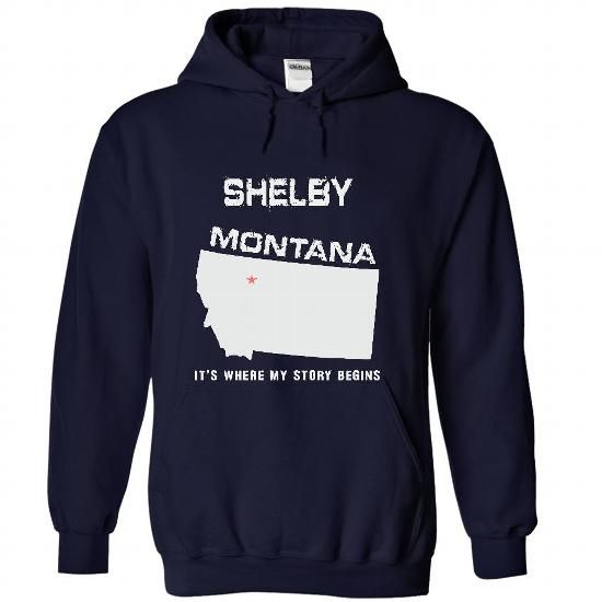 Shelby, Montana - #shirt women #tee cup. ADD TO CART => https://www.sunfrog.com/LifeStyle/Shelby-Montana-7227-NavyBlue-24086798-Hoodie.html?68278
