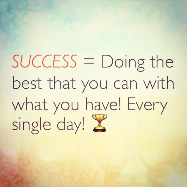 Top 25 Motivational Quotes For Entrepreneurs To Keep You: #Success = Doing The Best That You Can With What You Have
