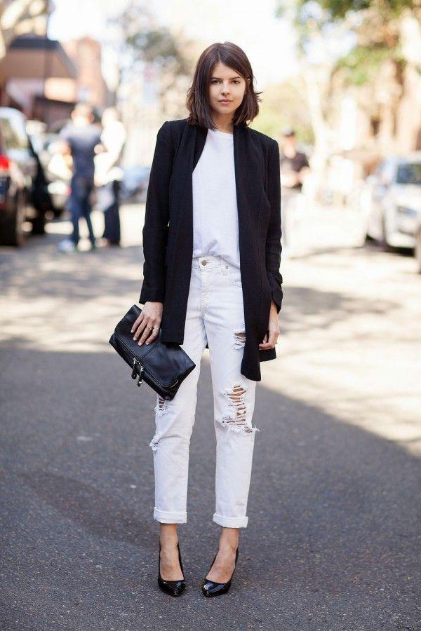 Идея для шоппинга: удлиненный пиджак или блейзер 0