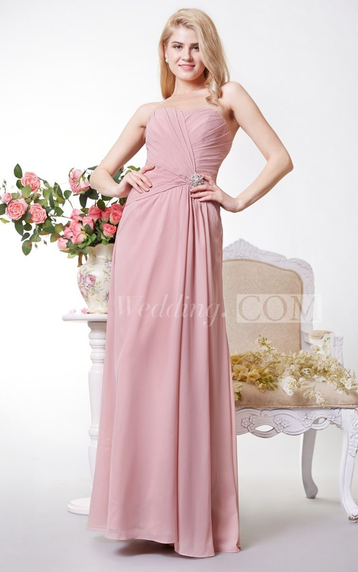 359 best Bridesmaid Dresses images on Pinterest   Casual gowns, Full ...