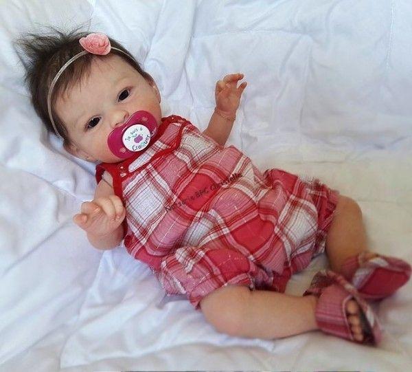 Mary Agathe 1 Silicone Reborn Babies Reborn Baby Dolls Reborn Babies