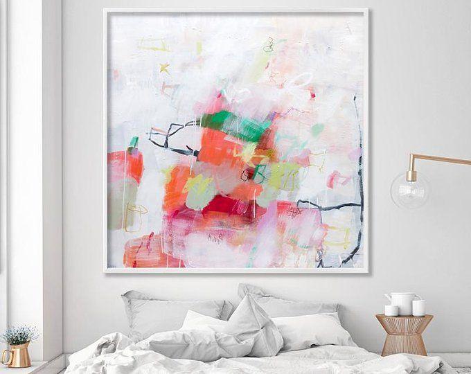 Impresión De Arte Abstracto Lienzo