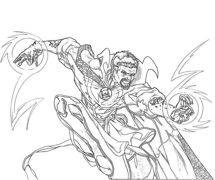 Au77 Doctor Strange Hero Illustration Art: 234 Best Lineart: Dr Strange Images On Pinterest