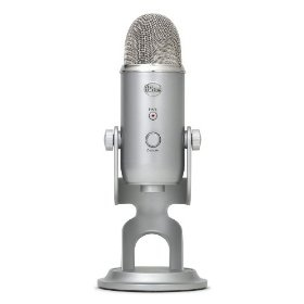 Best USB mic.  Heavy.  Not the best for portability, but you can pack it in your bag if you need to.