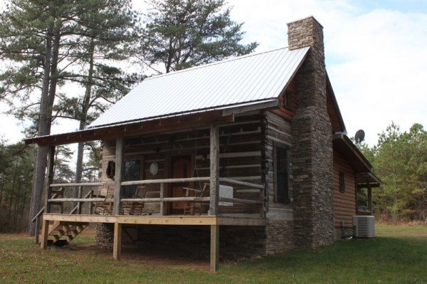 Bear creek log cabins near mentone alabama reconstructed for Log cabin builders in alabama