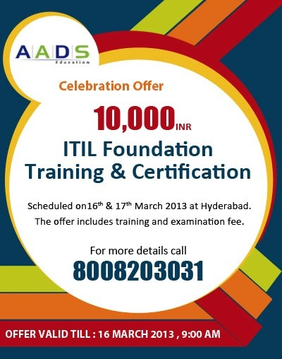 8 best itil foundation training certification images on pinterest the offer includes training and examination fee for more details please visit httpaadseducationitilml or fandeluxe Choice Image