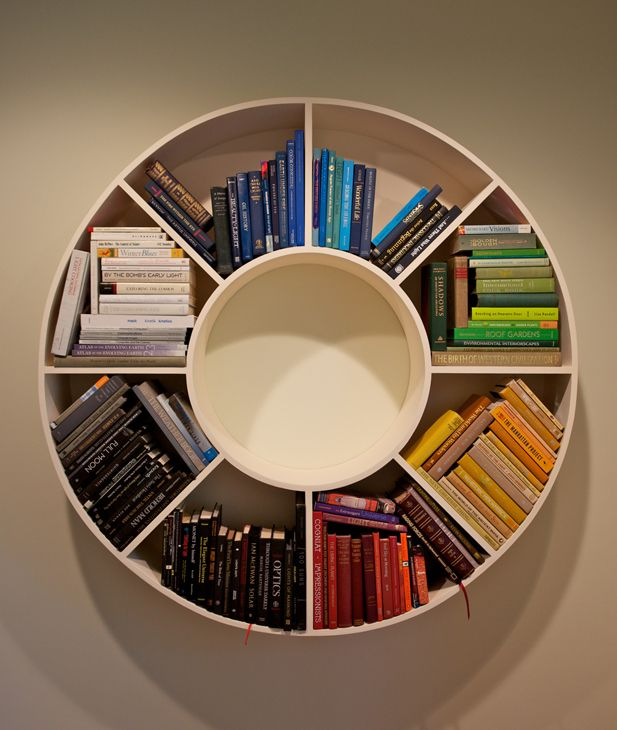 round bookshelves - Google Search