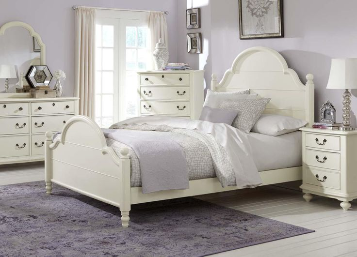LC Kids Inspirations By Wendy Bellissimo Low Poster Customizable Bedroom Set