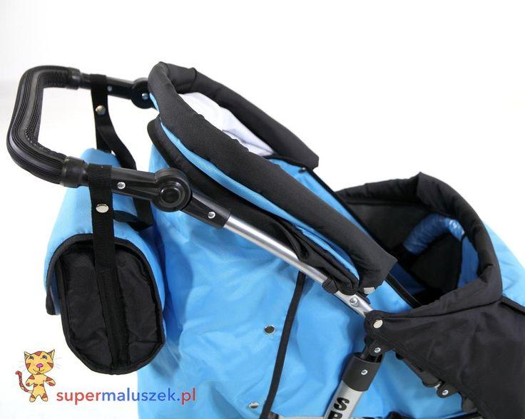 Wygodna, lekka spacerówka dla dzieci model Sport zwykły. #dziecko #spacer #wózek #baby #stroller #walk #children